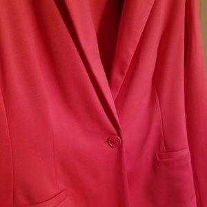 fb10110c6e42b Jackets   Coats - 212 pink blazer jacket nwt size 18